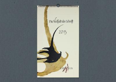 Kalender des Berliner Kalligraphievereins